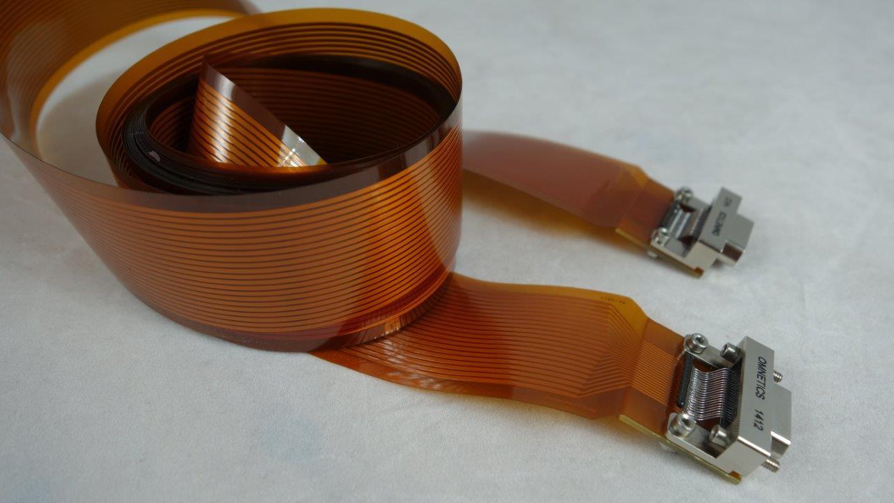 Long flex PCB